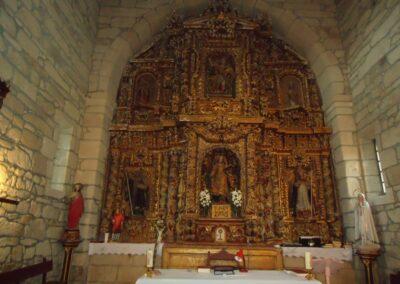 Restauración do retablo maior de Santa Baia de Berredo