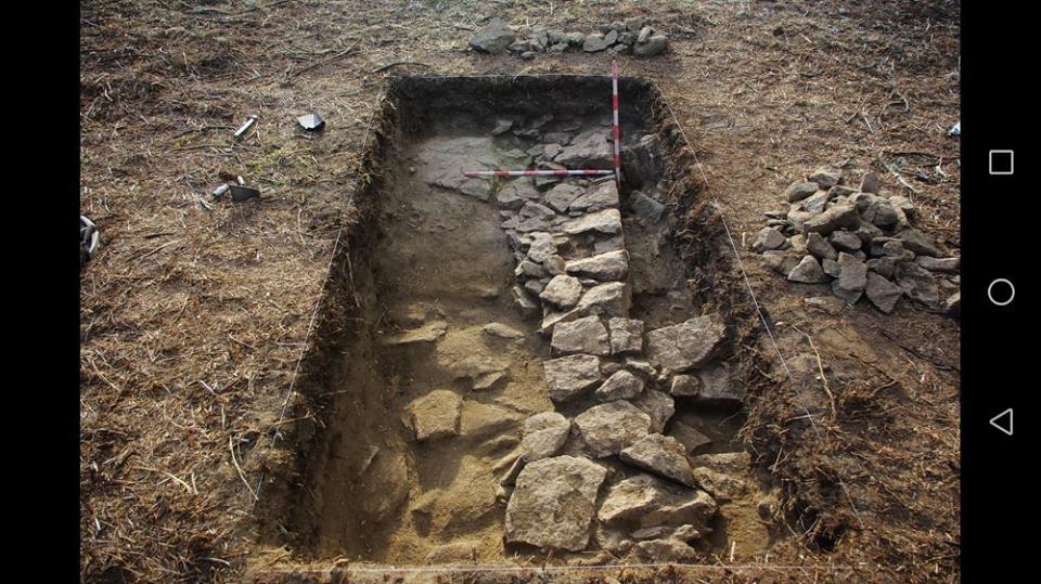 Escavación do Castro de Outeiro