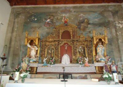 Restauracion do retablo de San Miguel de Berredo