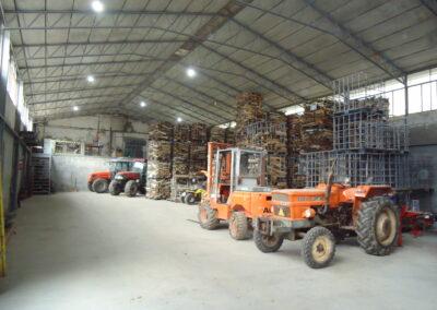 Empresa de quebrado de madeira