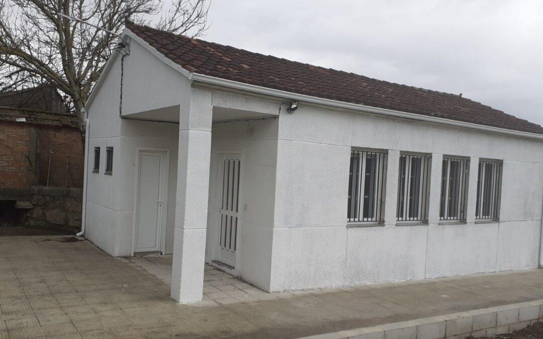 Rehabilitación da antiga escola para centro social