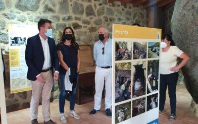 Visita da Directora Xeral de Agader a Puxedo (Lobios)