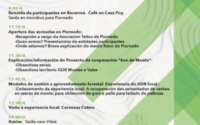 """Xornada 16 setembro en Piornedo (Cervantes- Lugo) do Proxecto """"Son de Monte"""""""