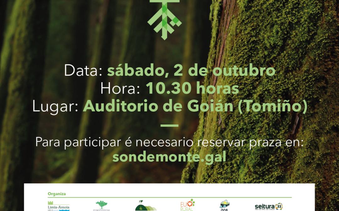 """Presentación proxecto cooperación: """"Son de Monte"""". Tomiño 2 outubro. Auditorio Goián 10,30 h"""
